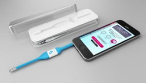 kinsa smart thermometer iphone