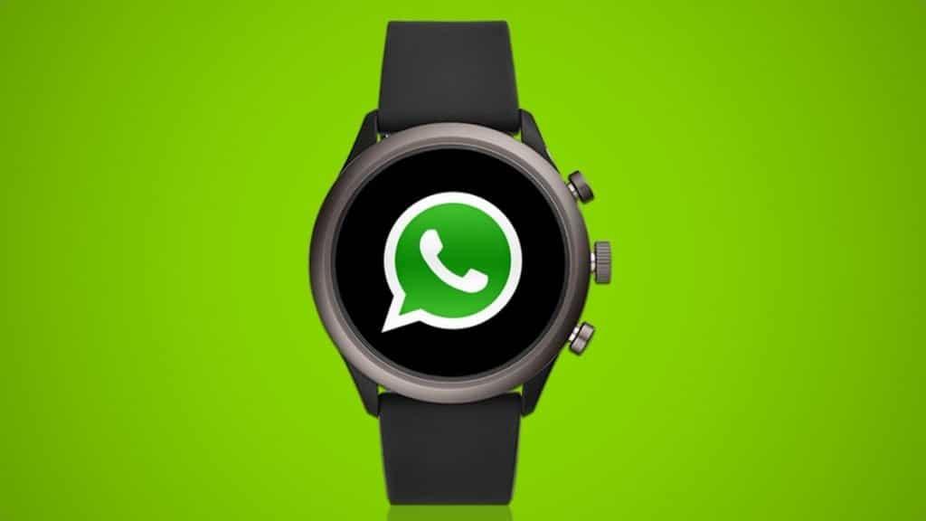 montre connectée whatsapp