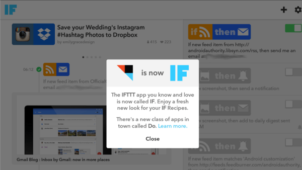 IFTTT-now-IF