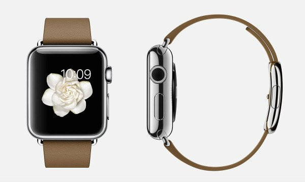 apple-watch-brown-leather-band-stainless-steel-buckle-retina-display