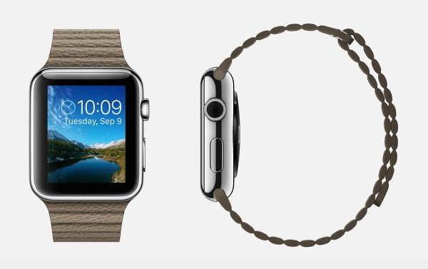 apple-watch-light-brown-leather-band-magnetic-closure-stainless-steel-retina-display