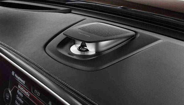 The Bang & Olufsen high-end Surround Sound system for the BMW X5