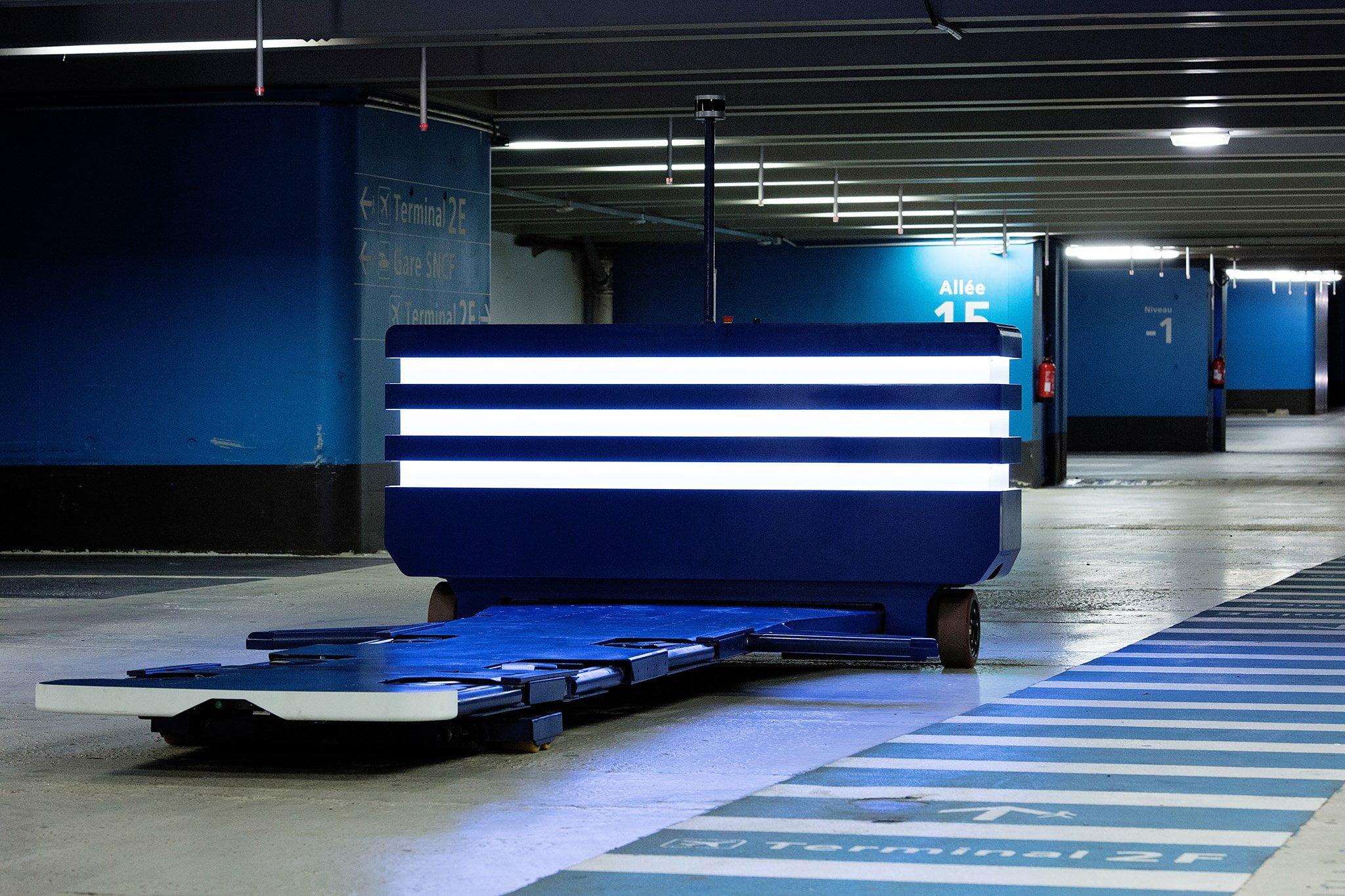 Stanley Robotics, le robot stationnement autonome