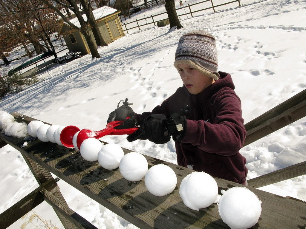 machine fabrique boulesde neige