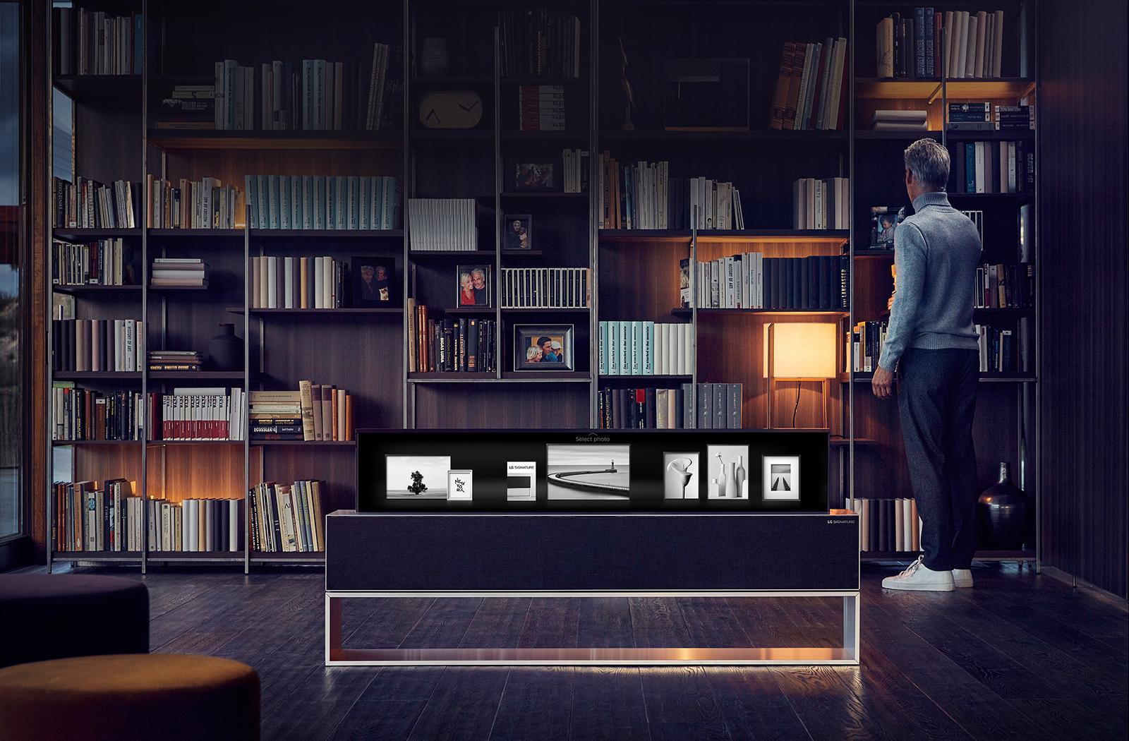 Smart TV Haut de Gamme Pliable Design Ecran Fin