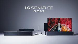 TV Enroulable Pliable LG CES 2019