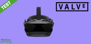 Valve index test avis casque vr Steam