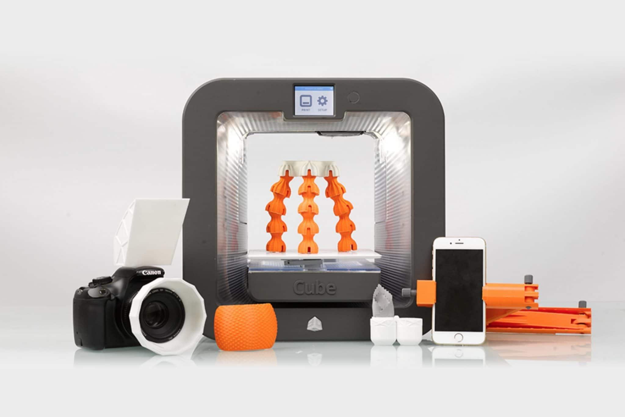 objet appareil photo impression 3D