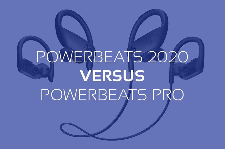 Powerbeats 4 2020 versus Powerbeats Pro
