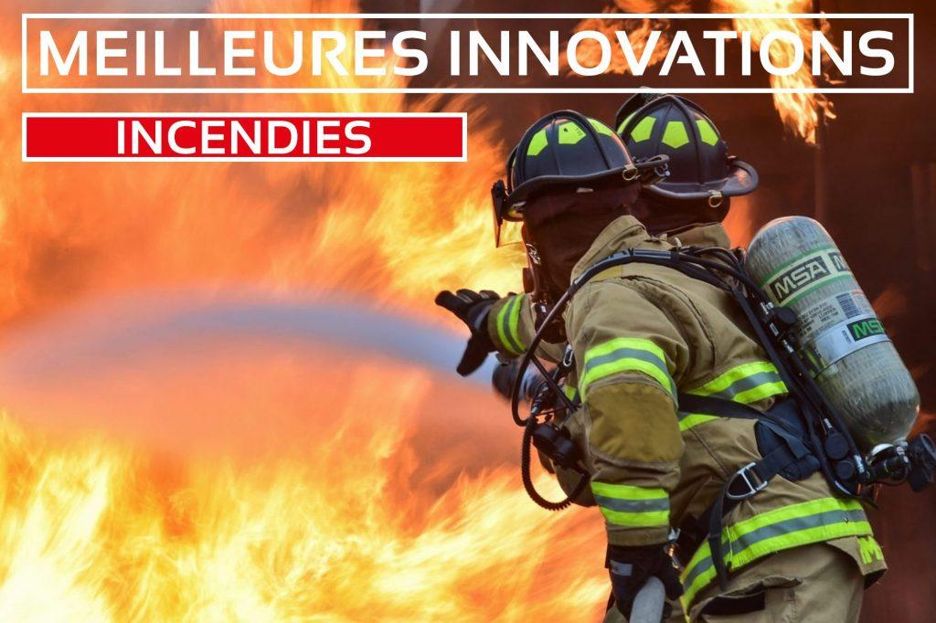 innovations incendie feu pompiers