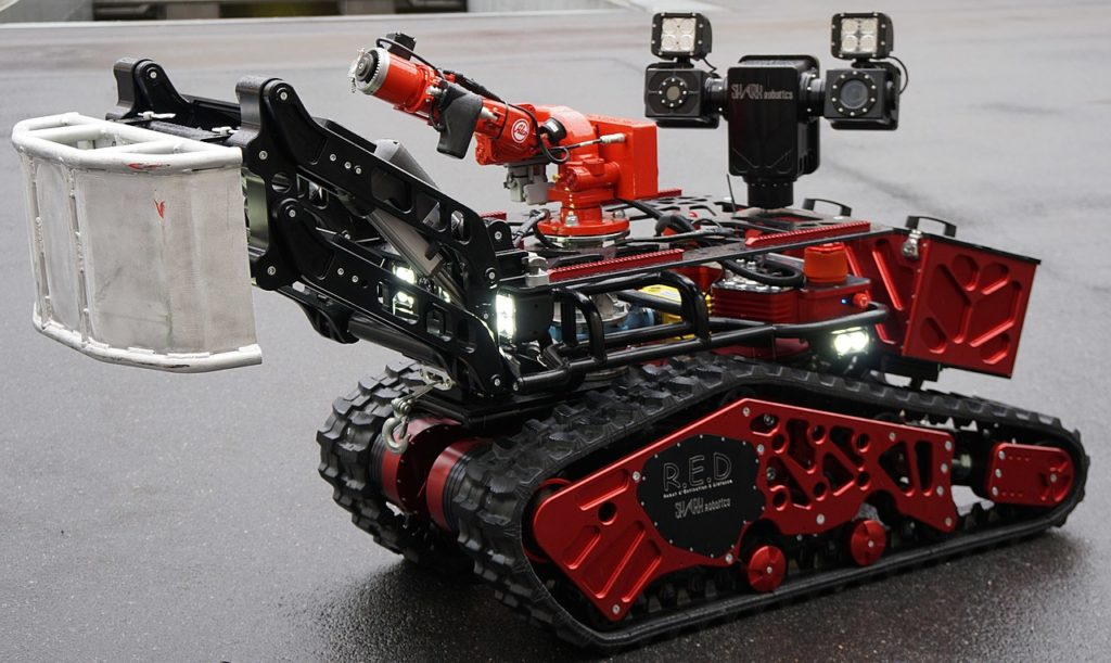 robot incendie pompier colossus