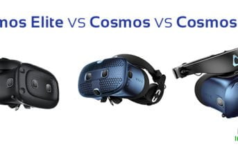 HTC Vive Cosmos VS Cosmos Play VS Cosmos Elite différences comparatif