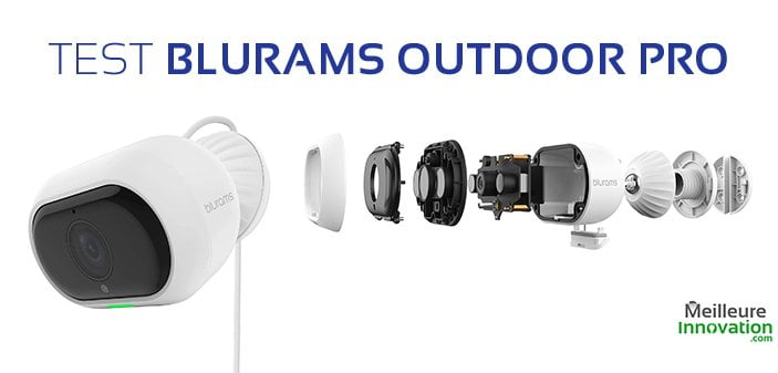 test blurams outdoor pro camera extérieur