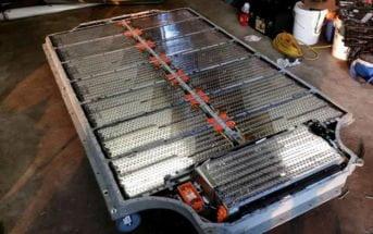 Batterie Tesla électrode