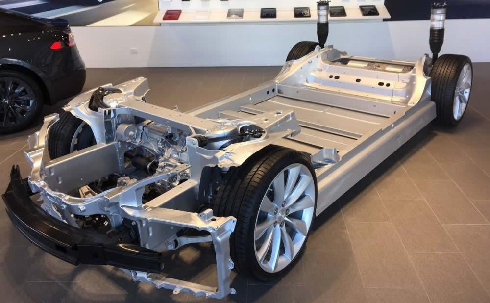 Batterie Tesla demande de brevet électrode