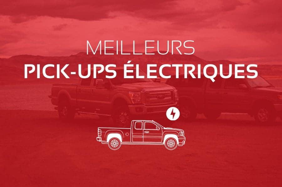 Comparatif des Meilleurs Pick-ups Électriques