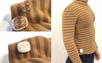 MIT capteurs signes vitaux vêtements