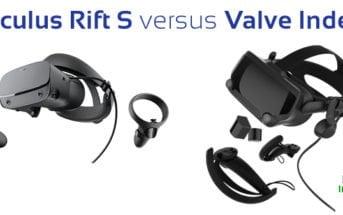 oculus rift s versus valve index