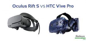 oculus rift s vs htc vive pro