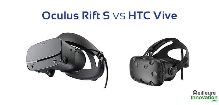 oculus rift s vs htc vive