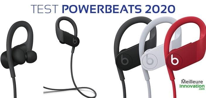 Test Powerbeats 2020 : Les écouteurs bluetooth pour sportifs