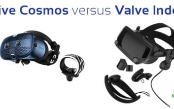 vive cosmos versus valve index