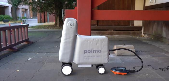 Poimo velo electrique prototype Japon