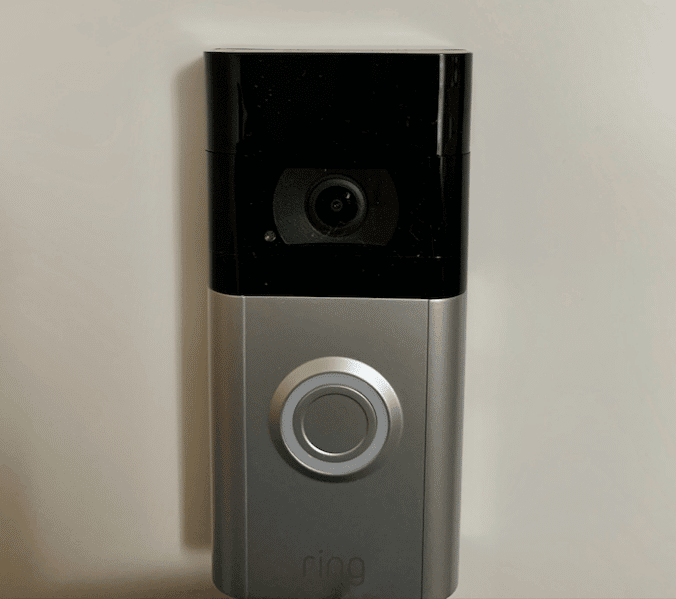 Ring Video Doorbell 3 installation porte