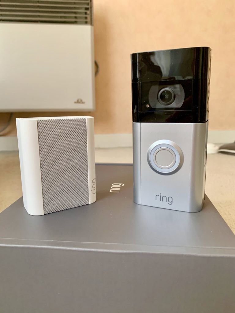 Visuel Ring Chime et Ring Video Doorbell 3 design