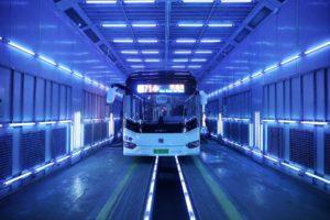 UV bus chine covid 19