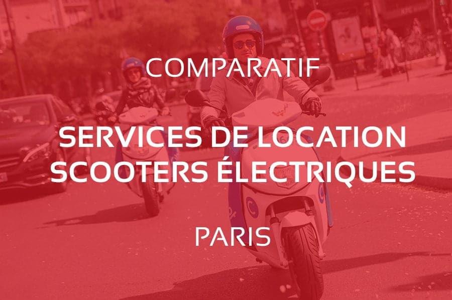 Comparatif des Meilleurs Services de Location de Scooter Électrique à Paris