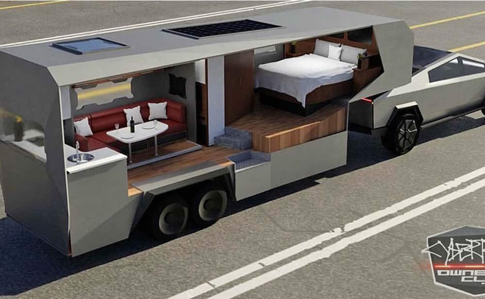 CyberTruck Tesla pick-up électrique designs