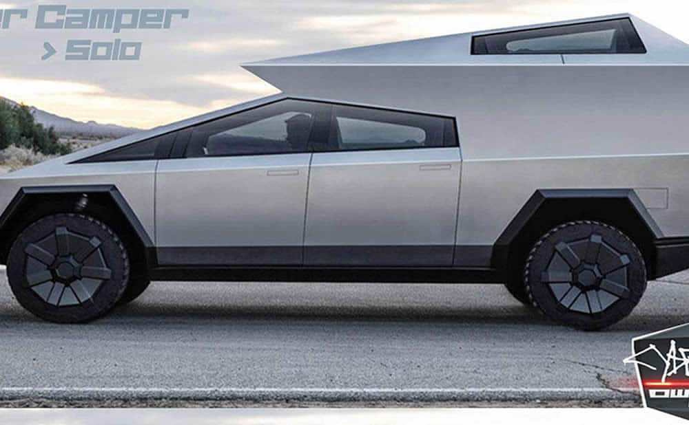 CyberTruck Tesla pick-up