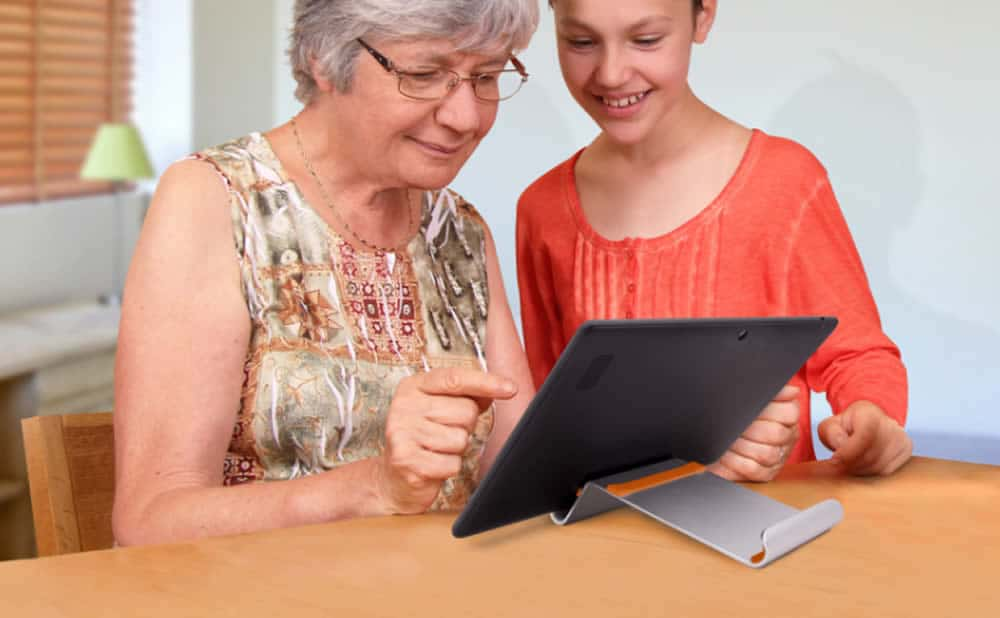 Facilotab tablette tactile personnes âgées