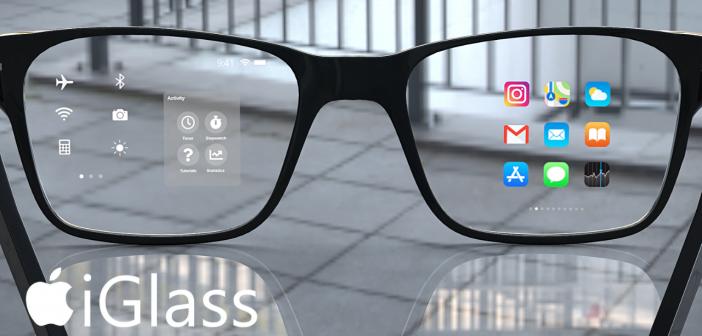 Apple Glass Iglass lunette connectée