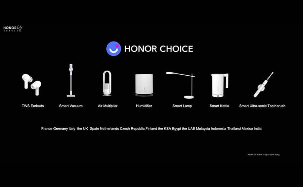 Honor nouveaux produits maison connectée