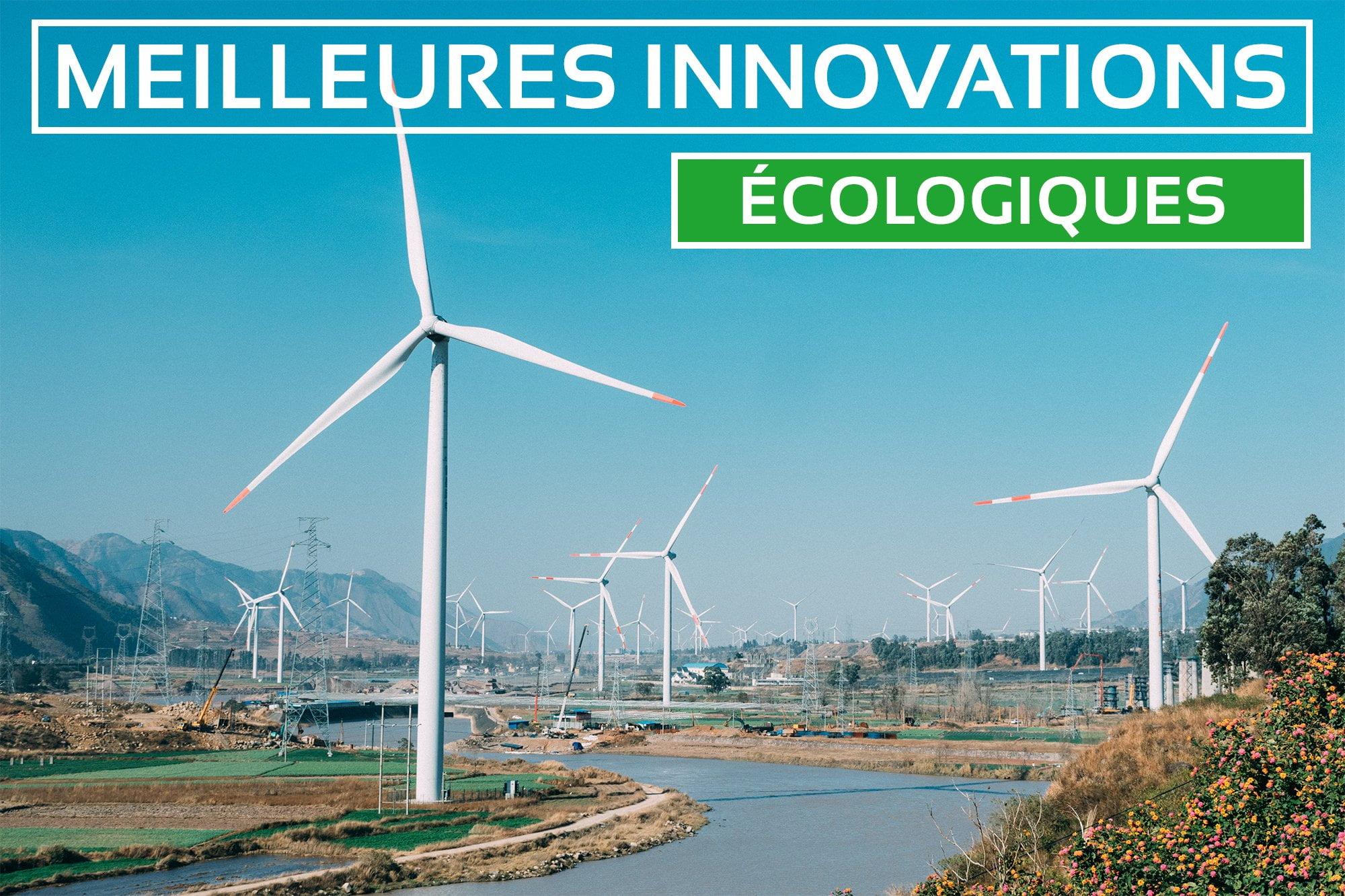 Top des Meilleures Innovations Écologiques 2021
