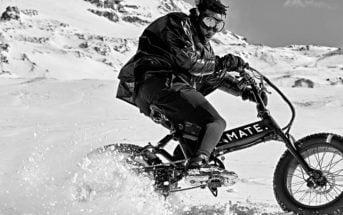 Mate X Moncler Genius 2020 VTT électrique extrême