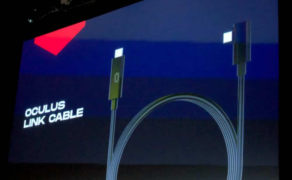 Oculus Link USB 2.0 mise à jour