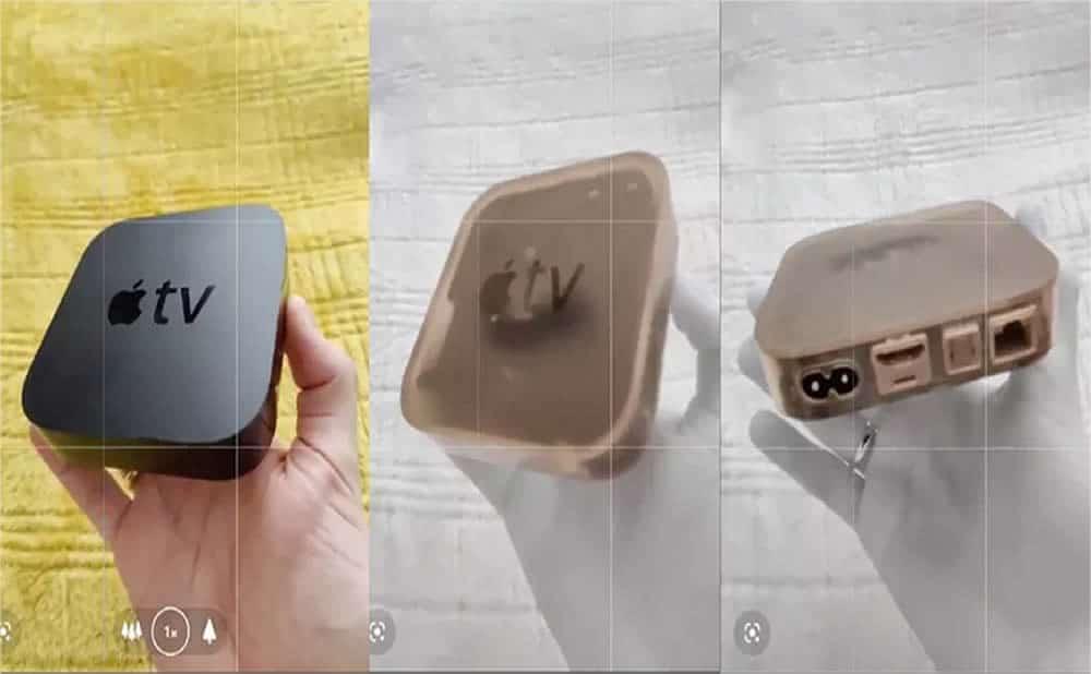 OnePlus 8 Pro vision rayon X déshabillant travers objets vêtements