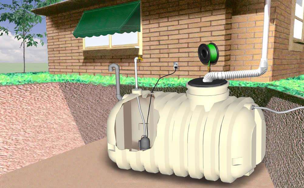 Purificateur d'eau UV pluie