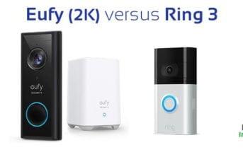 sonnette video eufy 2k ou ring 3