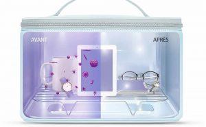 UVC 59S P55 : un sac stérilisateur UV pour smartphones et bien plus
