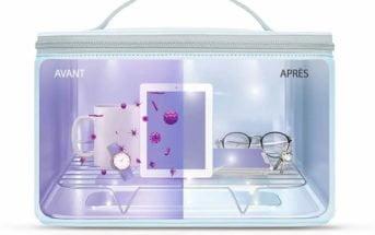 Stérilisateur rayons ultraviolets UVC 59S P55 sac UV