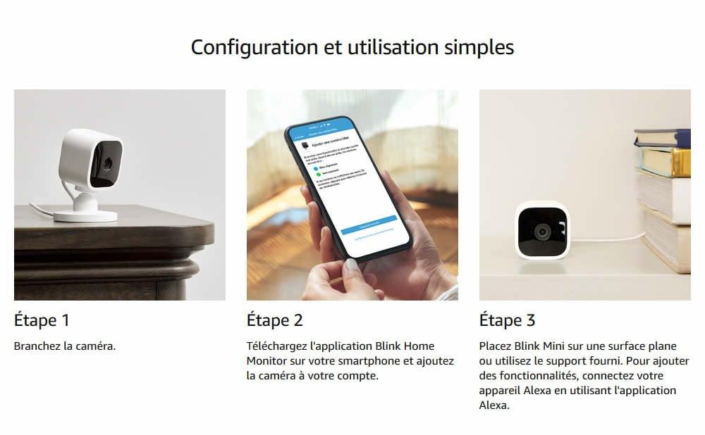 Test Blink Mini, caméra de sécurité filiale Amazon