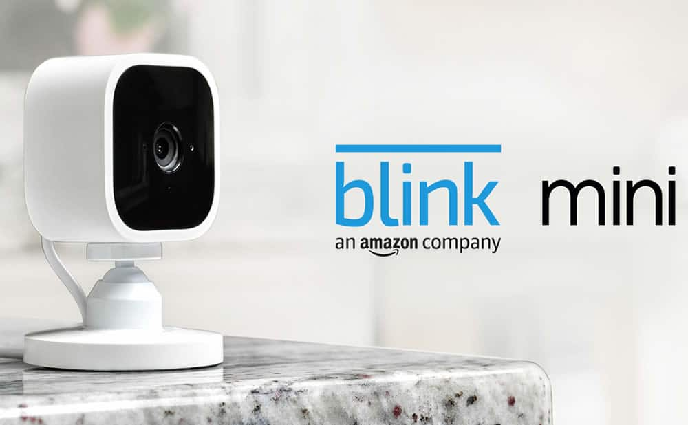 Blink Mini petite camera surveillance discrete