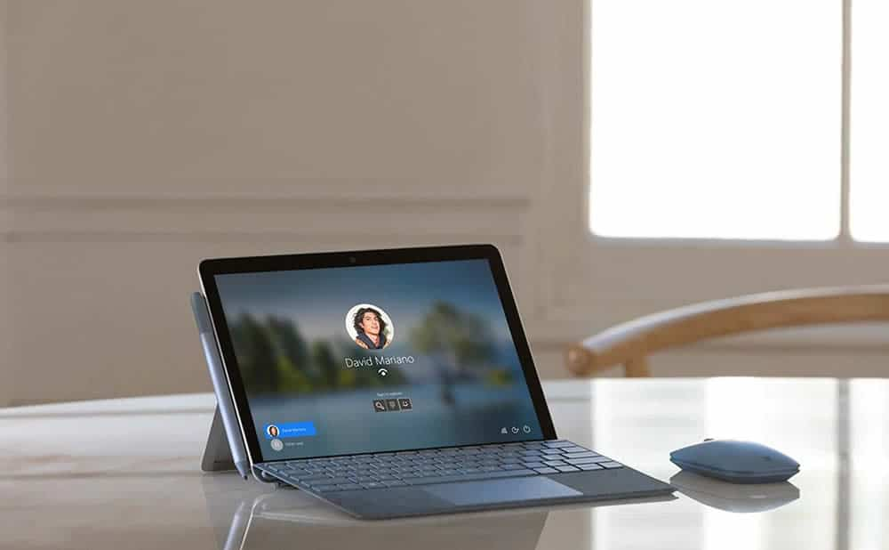 Test tablette tactile Microsoft Surface Go 2