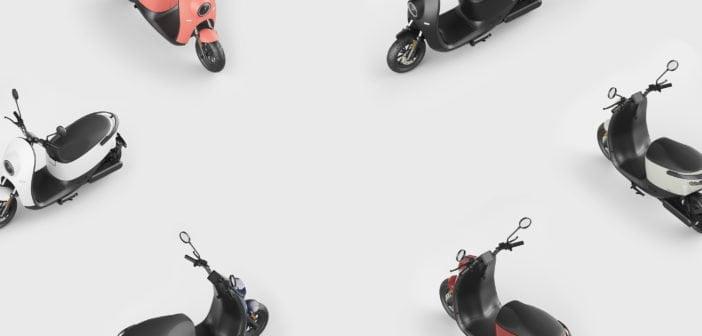 Unu scooters électriques