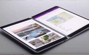 Windows 10X écrans doubles Microsoft