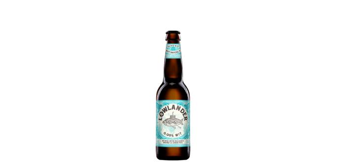 Bière recyclage écorces Lowlander sans alcool
